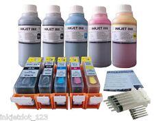 Refillable ink kit for Canon PGI-225 CLI-226 PIXMA MX882 +5x250ml 1p