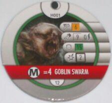 Gobelin Swarm H001 The Hobbit Et Inattendu Voyage Heroclix Horde Token