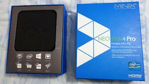 MINIX NEO Z83-4 Pro (Intel X5-Z8350, 32 GB, 4 GB RAM) Mini PC 4k Windows 10 Pro