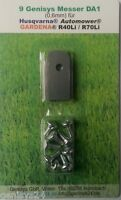 Messer von Genisys 0,6mm aus Edelstahl für alle Automower von Husqvarna Typ DA1