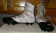 Under Armour Highlight Mens Clutch Fit Football Cleats White/Black Size US 10