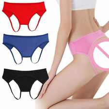 Thongs Cotton Blend Unbranded Knickers for Women
