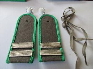 NVA 1 paar Schulterstücke Grenztruppen Stabsgefreiter Metallbalken
