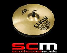 "RRP$469 Sabian SAA405 14"" Hi Hat Cymbals Metal X AAB Drumming Percussion"