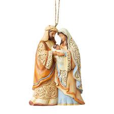Jim Shore Heartwood Creek Holy Family Christmas Ornament 6004319