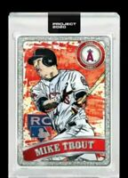 Topps Project 2020 Mike Trout by Blake Jamieson and Ben Baller #100 Presale