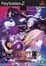 Used PS2 Melty Blood Actress Again SONY PLAYSTATION 2 JAPAN
