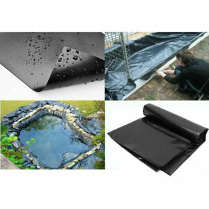 10-32ft Sizes Fish Pond Liner Gardens Pools PVC Membrane Reinforced Landscaping