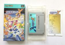 Rockman X Megaman Super Famicom SFC SNES Japan Free Shipping