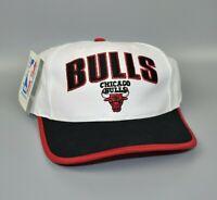 Chicago Bulls NBA Vintage 90's Twins Enterprise Adjustable Snapback Cap Hat NWT