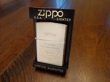 WE SUPPORT YOUR LIFE... ZIPPO 2 TONE JAPAN ISSUE ZIPPO LIGHTER NEAR MINT 1997