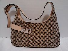 Salvatore Ferragamo Omega Gancini Monogram Savana Hirsh Shoulder Bag EUC!!!