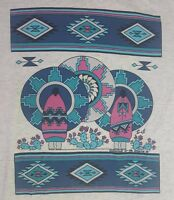 "Vintage ""Guardians Of The Spirits"" SOUTHWEST ART BY GALE TU-OTI Size M (38-40)"