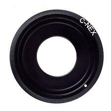 "C mount 16mm 1/2"" 2/3"" CCTV lens To NEX FOR SonyE mount Adapter NEX-5 5R 7 3N"