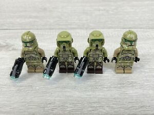 Lego Star Wars KASHYYYK TROOPER Minifigures X4 75412 75035 VGC