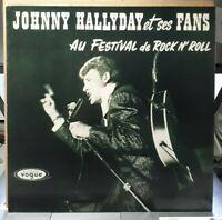 LP Johnny Hallyday 33T vinyle J.Hallyday et Ses Fans au Festival de Rock N' Roll