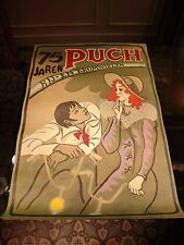75 years Puch bicycles and motorcycles double sided  poster published 1975 MINT