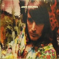 JAKE HOLMES 'HOW MUCH TIME' UK LP A2/B1