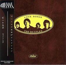BEATLES LOVE SONGS NEW RLS CD MINI LP OBI