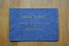 Catalogue grès de pierrefonds (no denbac art nouveau)