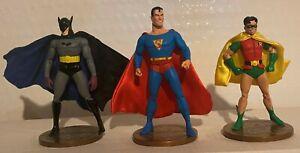 BATMAN ROBIN SUPERMAN 1st Appearance Lot of 3 Action Figures Near Mint DC Direct
