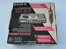 SONY MZ-R37 Walkman - MiniDisc Recorder