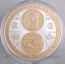 VATICANO 100 euro Vatican Precious treasuries Papa Benedetto XVI