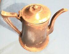 "Vintage Silver Plated Tea Pot, 7"" tall"