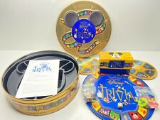 1997 The Wonderful World of Disney Trivia Game By Mattel Tin Box NEW OPEN BOX