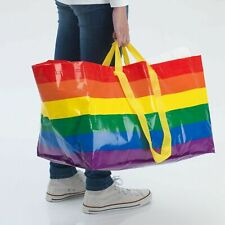 IKEA LIMITED EDITION PRIDE  Rainbow Bag / Tote Shopping / Storage NHS 71 Litre