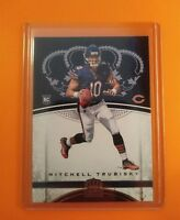 ROOKIE 2018 Crown Royale Mitchell Trubisky Chicago Bears RC card #82 SUPER 🔥HOT