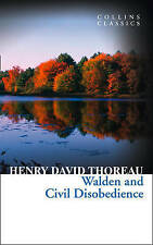 Walden and Civil Disobedience by Henry David Thoreau (Paperback, 1950)