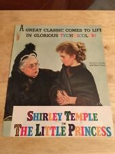 SHIRLEY TEMPLE - THE LITTLE PRINCESS  Vintage Movie Ad   - 1 Page - Color