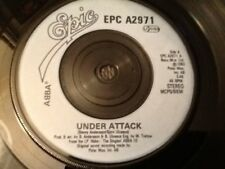 ABBA . UNDER ATTACK / YOU OWE ME ONE  . 1982