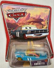 DISNEY PIXAR CARS THE WORLD CARS MARIO ANDRETTI  #22