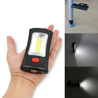 Portable 400 Lumen COB LED Flashlight Magnetic Working Camping Light +Hook Clip