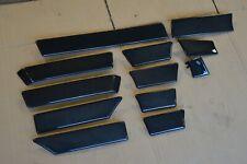 BMW E34 ///M5 OEM BLACK Wood Vogelaugenahorn grap Dark Interior Wood Trim RARE