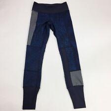 Lululemon Wunder Under Pant Sz 2 Kanoko Twist Inkwell Rugged Blue Sashiko Star