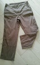AUTHENTIC HUGO BOSS MENS SMART-CASUAL KHAKI GREEN TROUSERS  SIZE L W34-36 L29