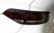 09-12 AUDI A4 S4 SMOKE TAIL LIGHT /w CUTOUT PRECUT TINT SMOKED OVERLAYS