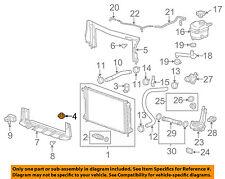 GM OEM-Radiator Lower Insulator 15781371