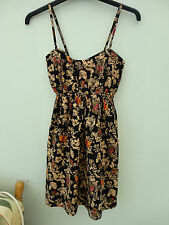 Atmosphere Strappy Cotton Floral/Abstract Patterned Dress/Sundress Size 8