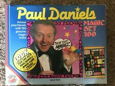 Paul Daniels Magic Set 100 Peter Pan Play Things Ages 8 - Adult 95% Complete