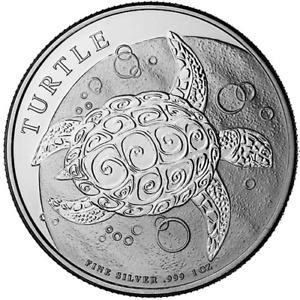 Niue Turtle 1 oz Fine Silver .999 Coin 2016