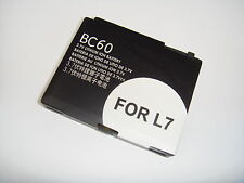 COMPATIBLE BC-60 BATTERY FOR MOTOROLA L2 L6 L7 RAZR V3x
