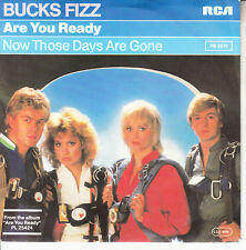 """BUCKS FIZZ  Are You Ready? PICTURE SLEEVE 7"""" 45 record NEW + jukebox title strip"""