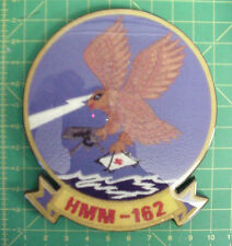 HMM 162, Marine Helicopter Squadron Award/Recognition Wall Plaque, Mint PX box