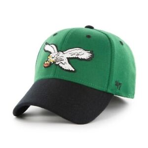 Philadelphia Eagles 47 Brand Two-Tone Legacy Contender Stretch Fit Hat