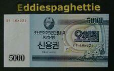 Korea North 5.000 Won 2003 Savings Bond UNC