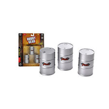 Hobby Gear 1/24 Scale 50 Gallon Drum Set 17013 Accessories for Diecast and More!